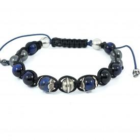 """MIDNIGHT BLUE 08"" Bracelet..."
